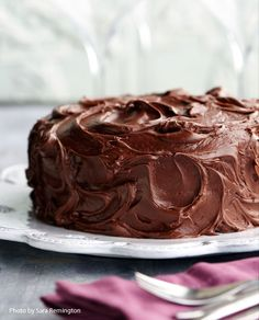 vegan: chocolate cake...