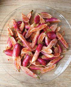 French Breakfast Radish Kimchi Recipe from The Kimchi Cookbook by Lauryn Chun
