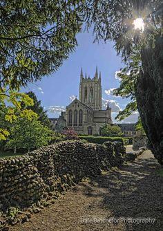 The Abbey of Bury St Edmunds, Suffolk, England.