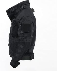Mens Tactical Pants, Tactical Wear, Tactical Clothing, Cyberpunk Clothes, Cyberpunk Fashion, Mode Sombre, Cool Jackets, Character Outfits, Jacket Style