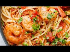 A simple spicy shrimp pasta that's perfect for the summertime! Similar to the shrimpfra diavoloyou get at Italian restaurants, this recipe is made with lots of garlic and cherrytomatoes bursting with summer goodness. A simple pasta dinner that's sure to please everyone! Here's the deal. This beautiful Spicy Shrimp Pasta recipe has summer 2016 written …