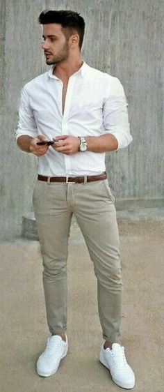 35 cool men's casual fashion style outfits look masculinos, Trendy Mens Fashion, Stylish Men, Urban Fashion, Fashion Men, Style Fashion, Fashion Styles, Men's Casual Fashion, Fashion Ideas, Men's Formal Fashion