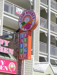 Candy Kitchen--Ocean City, MD. Whenever I'm at the beach, half my spending money goes right here. There are several Candy Kitchen's in Ocean City. But, this one (is mine! HAHA) & right next store to the Park Place Hotel, where I usually stay!