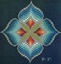 Blue Four Square
