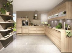 The kitchen is directly in the living room. If you are in possession of a little kitchen, you definitely require big ideas in ord… Modern Kitchen Cabinets, Kitchen Cabinet Design, Kitchen Layout, New Kitchen, Kitchen Decor, Kitchen Ideas, Beautiful Kitchen Designs, Best Kitchen Designs, Modern Kitchen Design