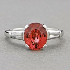 Classic Pink Spinel Ring | Perry's Fine Antique & Estate Jewelry
