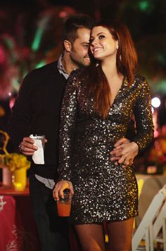 I want to wear a short, sparkly mini dress to my rehearsal dinner!