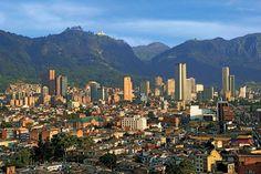 La imponente capital colombiana.
