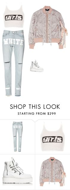 """Untitled #488"" by guls ❤ liked on Polyvore featuring Alexander Wang, Puma and Nicopanda"