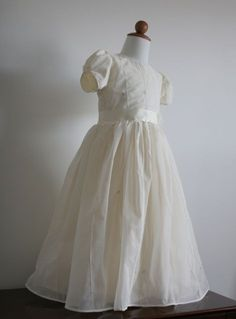 OMG Anna's first holy communion dress (I hope!)