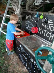 The Mud Kitchen - A Recipe for marvellous Outdoor play
