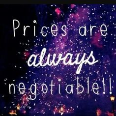 ???? Prices are always negotiable Other
