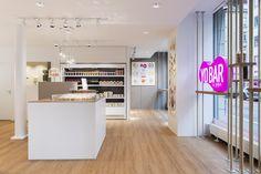 - youbar luzern - designed by objekt 13 Innenarchitekur - Loft, Frozen Yogurt, Bed, Switzerland, Table, Shops, Furniture, Design, Home Decor