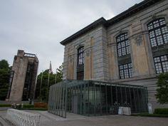上野の森 国際こども図書館/安藤忠雄。  昔の帝国図書館を安藤がリノベーション。リノベーションっていうより復元に近いのかも。