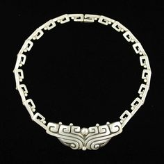 Necklace | Margot de Taxco.  Sterling Silver.  ca. 1950s