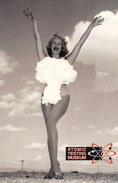 Miss Atomic Bomb via Atomic Testing Museum http://www.nationalatomictestingmuseum.org/