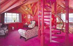 madonna inn pink room - Google Search