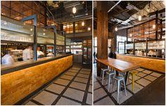 Jamie's Italian Birmingham Restaurante para Jamie Oliver diseñado por el estudio o agencia Blacksheep