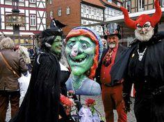 Dressing up on Walpurgisnacht