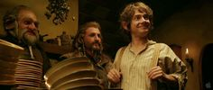 Who: Dori, Fíli, Bilbo  Where: Bag End
