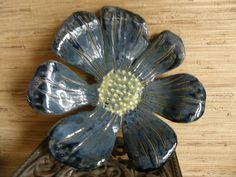 stone ware flower