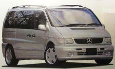 Mercedes-Benz W638 V-Class 空力套件大觀-7Car 小七車觀點