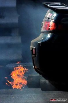 Nissan 240sx S14 Flame