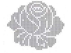 Collection of Crochet Pearl Fl Filet Crochet Charts, Crochet Cross, Crochet Home, Thread Crochet, Crochet Motif, Crochet Doilies, Crochet Flowers, Crochet Skull Patterns, Doily Patterns