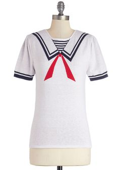 I want to buy this and wear it someday when I'm pregnant, so I can look like the Stay-Puft Marshmallow Man!  #modcloth