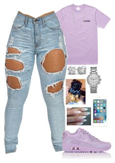 """"""".S."""" by basnightshine1015 ❤ liked on Polyvore featuring NIKE, ASOS and MICHAEL Michael Kors"""