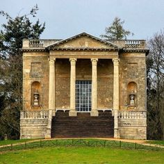 """Peter Lyden (@peter.lyden) on Instagram: """"The perfectly proportioned Queens Temple at the Stowe Landscape Garden. #PleasurePavilions #Follies…"""""""
