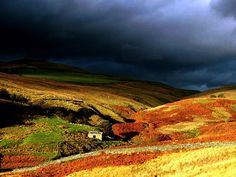 Stormy Weather on the Yorkshire Dales