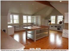 Studio over garage with pine floors - move me in!