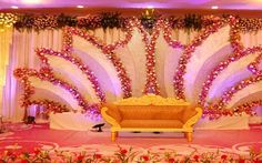 wedding Stage Decorations in delhi
