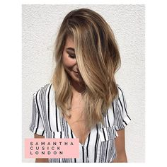 Z O E S U G G BLONDER | BRIGHTER | BEACHY Fresh summer locks for this gorgeous…