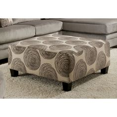 Rayna Ottoman by Chelsea Home
