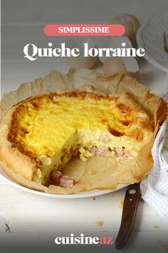 La quiche lorraine est une entrée traditionnelle française qu'il est facile de cuisiner. #recette#cuisine#quichelorraine#patisseriesalee