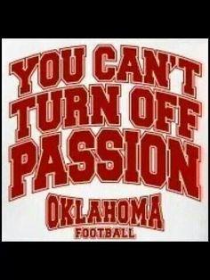 This is so true.  #BOOMER SOONER.  via:  Oklahoma Football