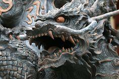 Art Vampire, Vampire Knight, Japanese Dragon, Japanese Art, Dragon Oriental, Cosplay Steampunk, Dragon Rey, Statues, Mermaid Art