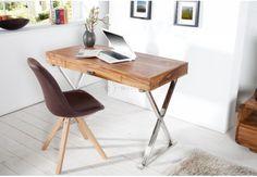 undefined Masculine Office Decor, Masculine Living Rooms, Modern Office Desk, Masculine Interior, Home Office Space, Eco Furniture, European Furniture, Furniture Market, Solid Wood Furniture