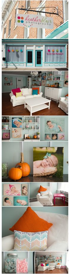 Updated Studio {Mechanicsburg Newborn Photographer}