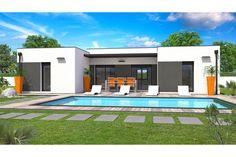 Modèle de maison Horizon - . Retrouvez tous les types de maison à vendre en France sur Faire Construire Sa Maison