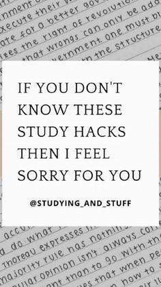 Best Study Tips, Exam Study Tips, School Study Tips, Study Skills, College Study Tips, Study Motivation Quotes, Study Quotes, School Motivation, Effective Study Tips