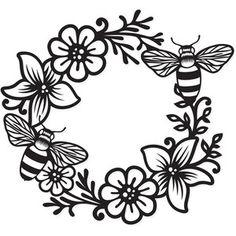 Silhouette Design Store - My Cart Silhouette Cameo Projects, Silhouette Design, Bee Silhouette, Free Font Design, Free Svg, Cricut Creations, Vinyl Projects, Vinyl Designs, Graphic