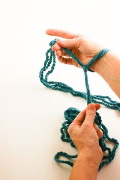 Welcome! I'm so glad you're here to learn how to arm knit. I think you're going to love it! You don't need to be a knitter at all, though if you are, it will be familiar right away. If you aren't, I've provided lots of detailed photographs to make it super easy to follow and READ MORE