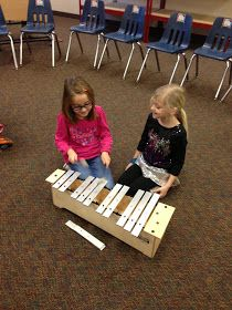 ♫ We ❤ Music @ HSES! ♫: Mallet Madness!