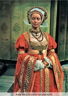 Elvi Hale as Anne of Cleves in 'Henry VIII and His Six Wives' (1972).