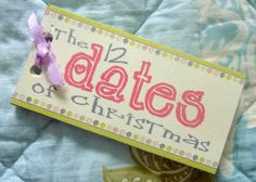 The 12 Dates of Christmas with a FREE Printable!