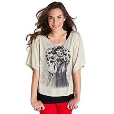 Disney Cruella De Vil Top for Women | Disney StoreCruella De Vil Top for Women - No pups were made into fashion victims for this dolman-sleeve Cruella de Vil top. Rhinestone accents set off the spot-on style that comes directly from the Disney Parks.