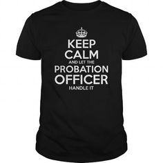 Cool  Probation Officer Shirt; Tee